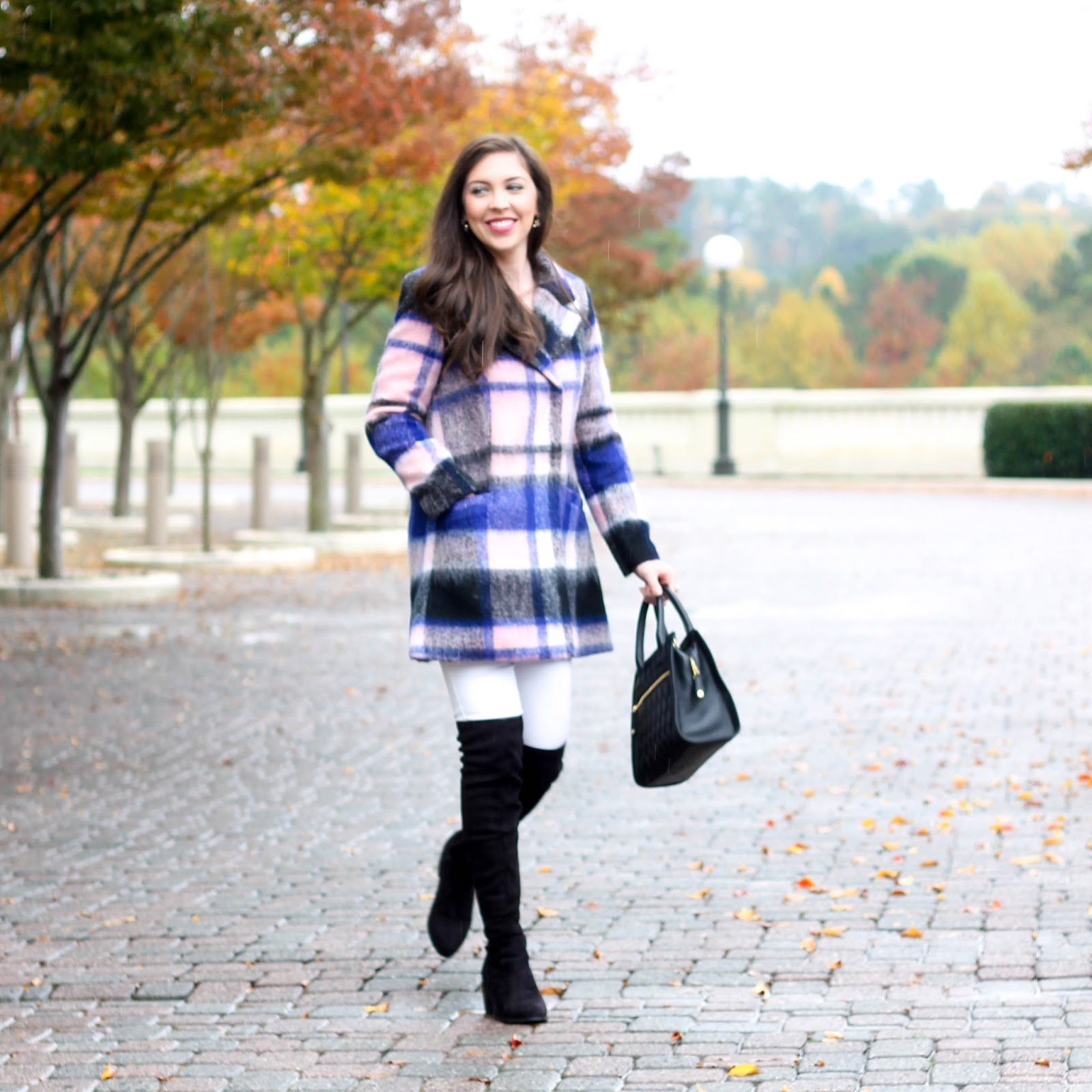 Wrapped Up In Plaid Pretty In The Pines North Carolina