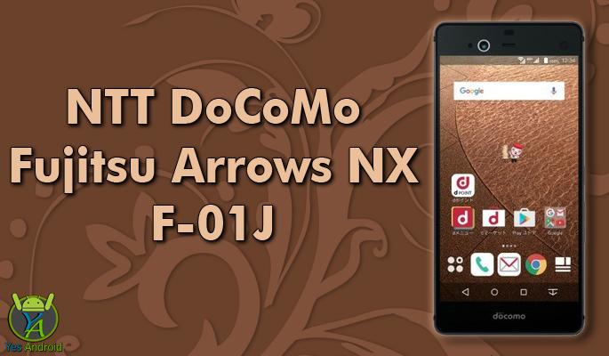 NTT DoCoMo Fujitsu Arrows NX F-01J Full Specs Datasheet
