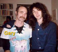 Jason Becker con su padre Gary