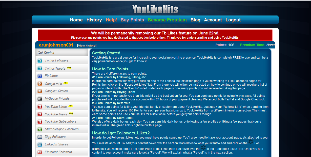 YouLikeHits iMacros JavaScript (Facebook) - Giant Hackers