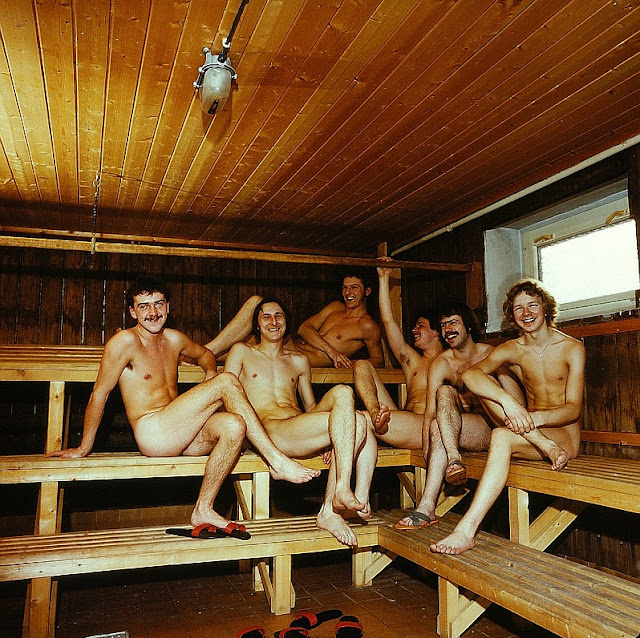 german nude naked sauna