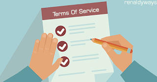 Cara Membuat Halaman Terms Of Service Di Blog