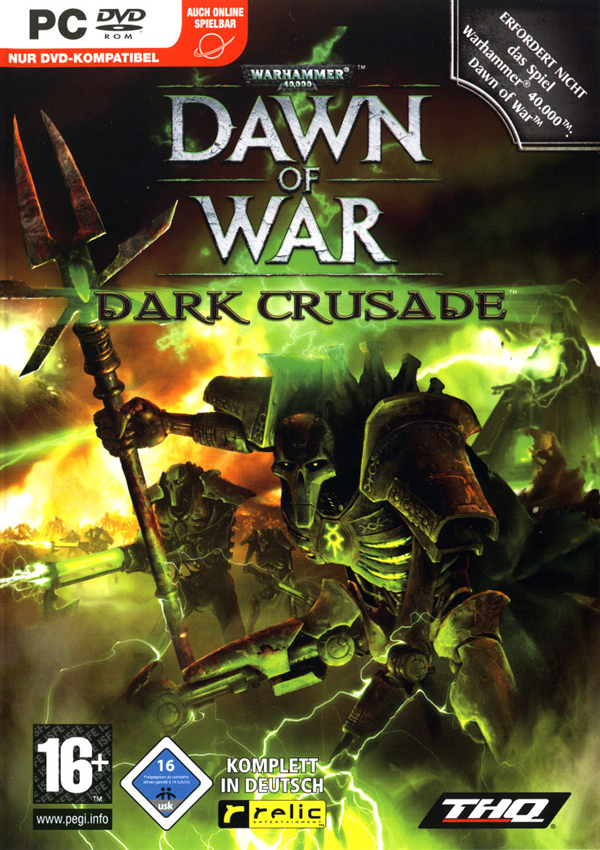 Warhammer 40000 Dawn of War Dark Crusade Download Cover Free Game