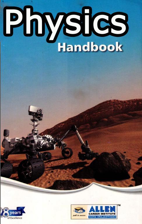 Download Allen Physics Handbook Material Full Pdf - NEET