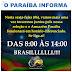 Horário de funcionário do Paraiba sexta dia 05 de julho