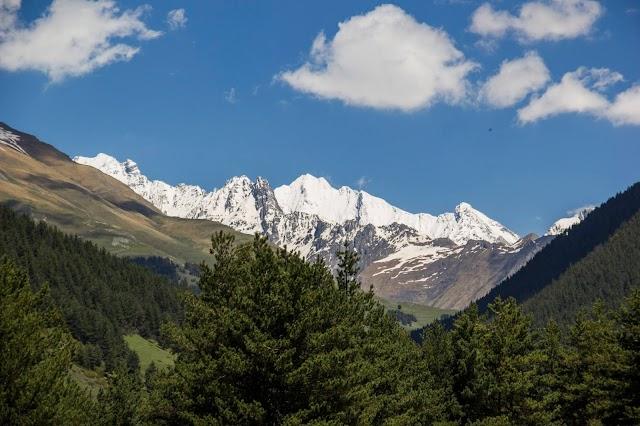 Тушети, горная Грузия