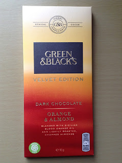 Green & Blacks Velvet Edition Orange & Almond Dark Chocolate