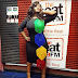 Toolz shows off her famous curves in lovely form fitting gown