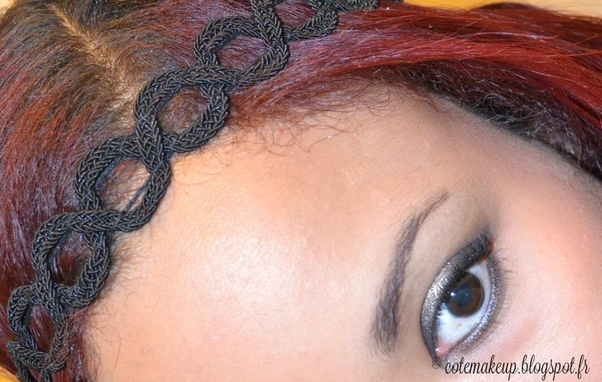 idées coiffures saint valentin avec accessoires cheveux chics