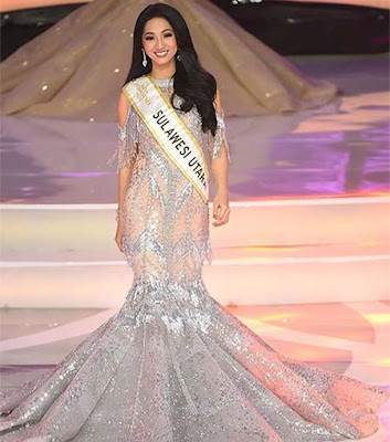 Harini Sondakh Miss Indonesia