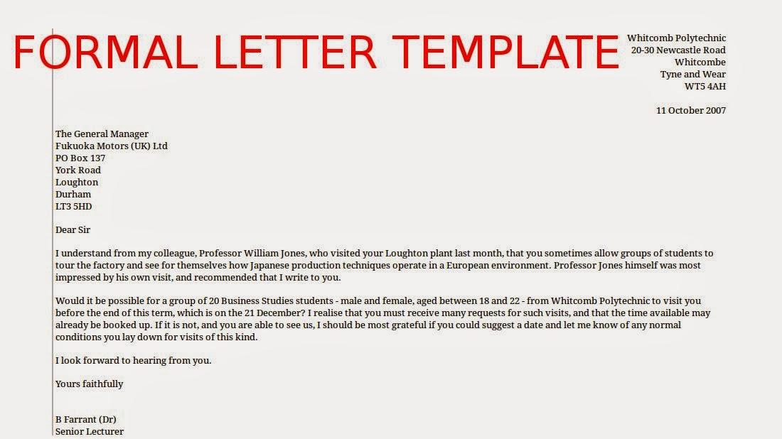 Sample Formal Resume Cover Letter. milano gray cover letter template ...