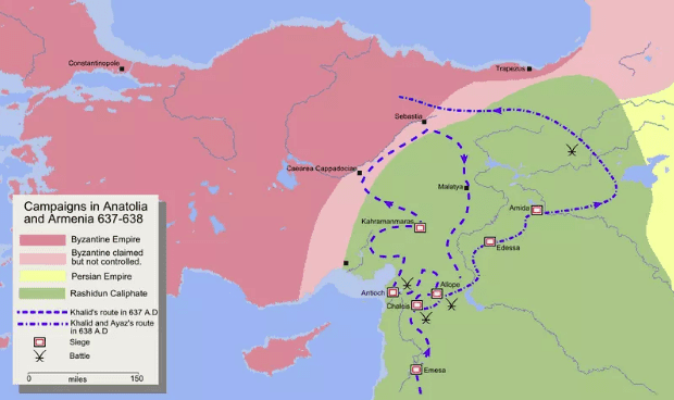 Ekspedisi Militer di Armenia dan Anatolia