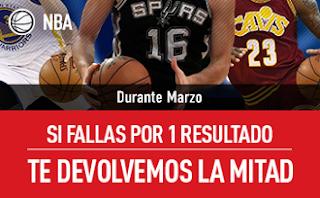 sportium NBA: En Marzo combinadas 'con comodín'
