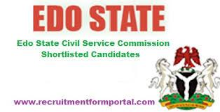 Edo State Civil Service Commission LGA Recruitment
