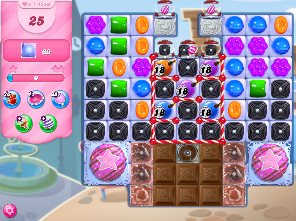 Candy Crush Saga level 4553