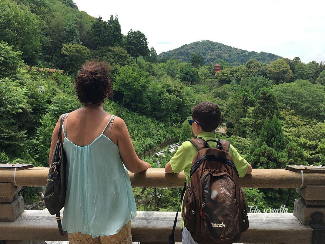 Vista en Kiyomizu-dera