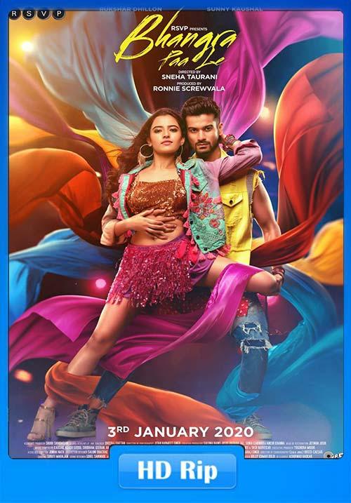 Bhangra Paa Le 2020 Hindi 720p HDRip Esub x264   480p 300MB   100MB HEVC