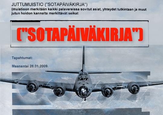 Kuva: Anneli Auer - Valtion sota yksityistä kansalaista vastaan