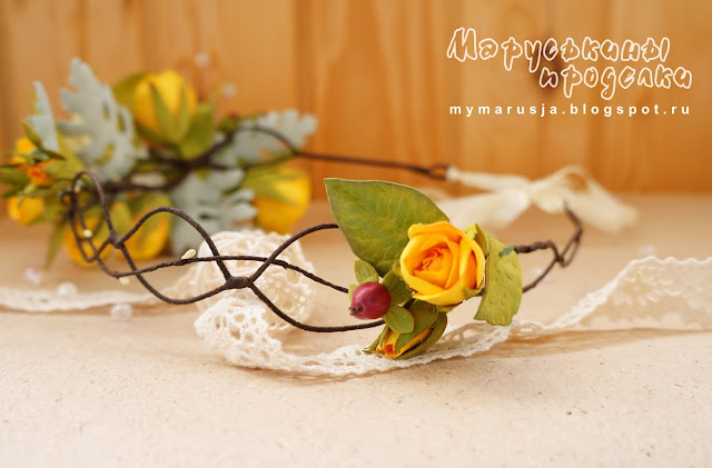 венок для невесты