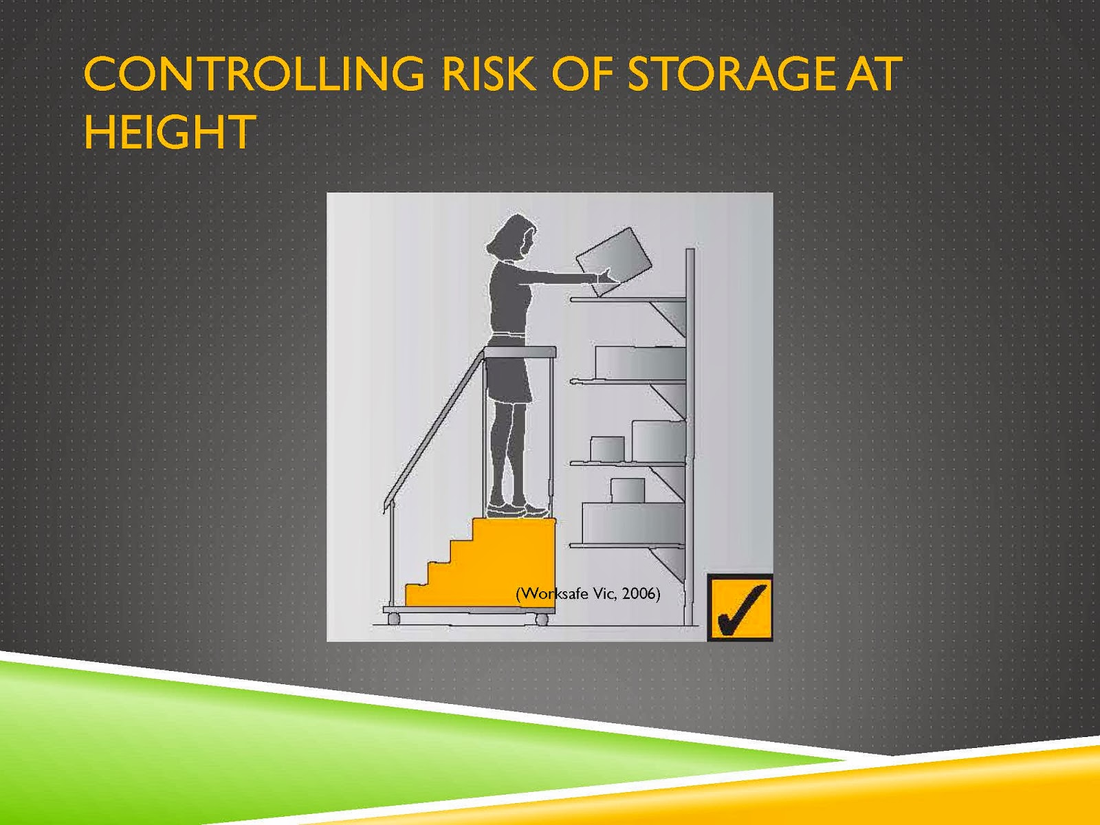 CONTROL RISKS OF STORAGE