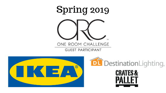 It's week 2 of the Spring 2019 One Room Challenge. Come check out our reading room progress!