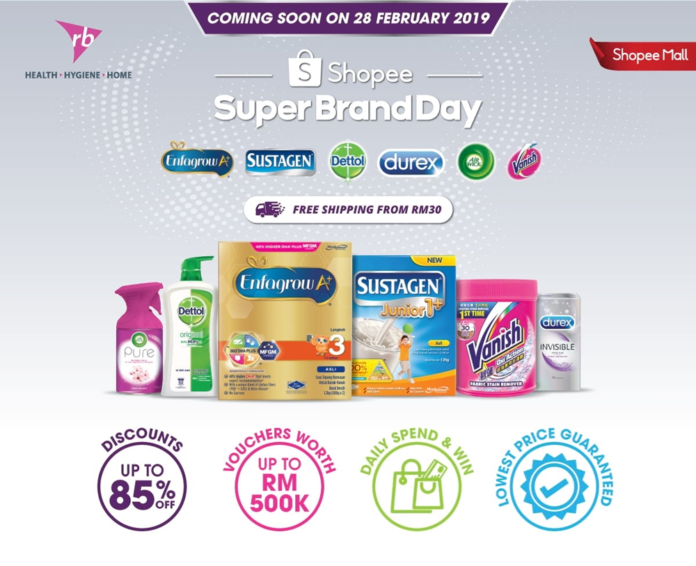 Shopee Malaysia, Shopee Super Brand Day, House Cleaning Necessities, Barang Murah di Shopee, Rawlins Shops, Rawlins GLAM