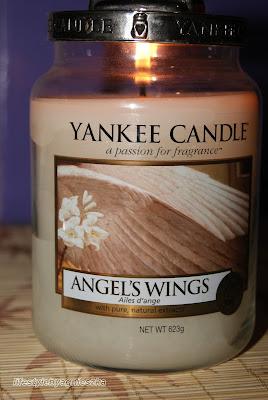 Yankee Candle Angel's Wings - jak pachną skrzydła anioła?