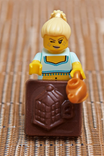 Lego - Advent Calendar - Calendrier de l'Avent - Lego -Vœu - Génie Lego - Genius - Chocolat au lait