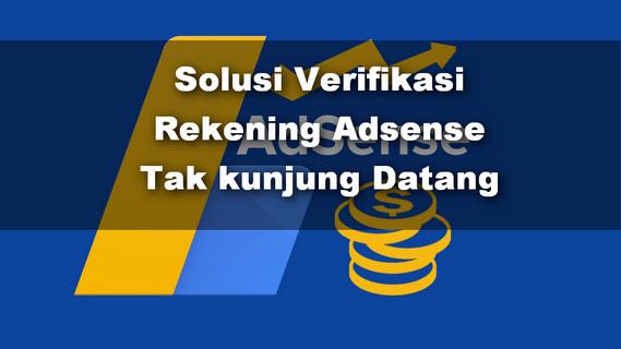Tutorial Verifikasi Pembayaran Adsense dengan OVO