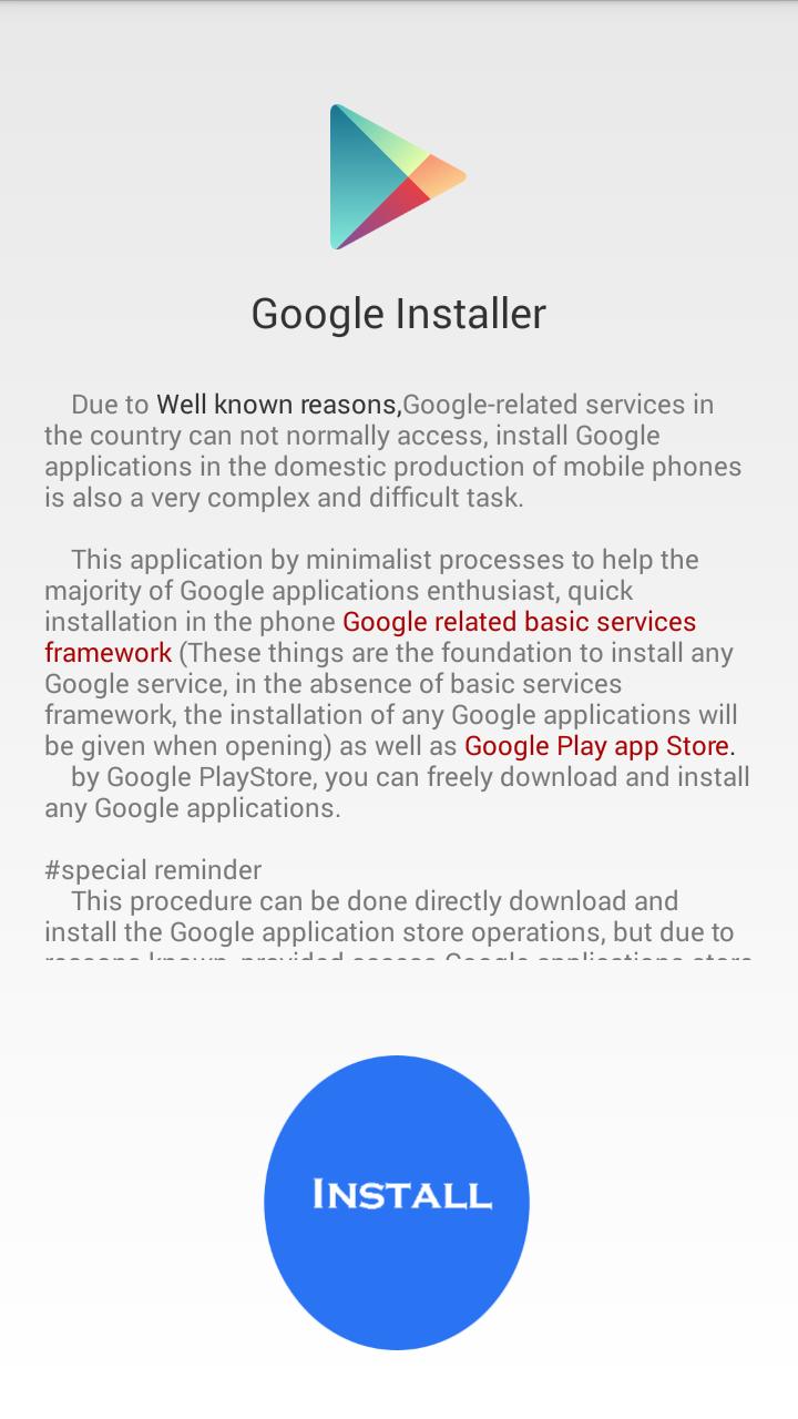 menginstal layanan google di xiaomi - install