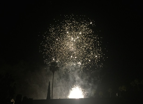Hollywood Forever 4th July Fireworks