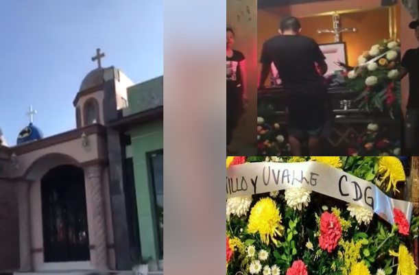 """VIDEO; """"Hasta en los Marucheros hay clase"""" graban usuarios la diferencia entre los panteones de Sinaloa vs Tamaulipas"""