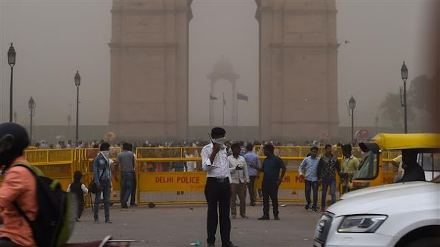 77 killed as powerful dust storms hit north India