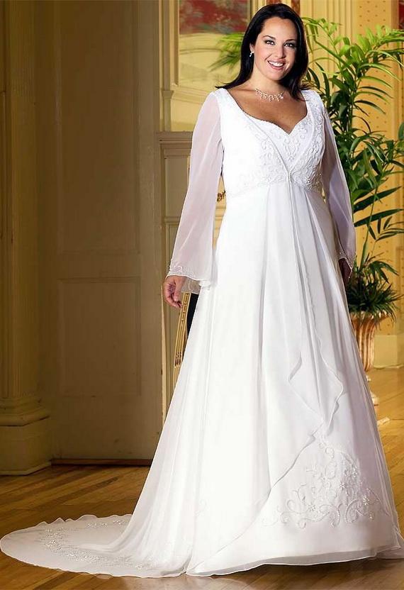 Wedding Dress: Wedding Dresses For Fat Women