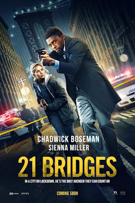 21 Bridges 2019 Eng WEB HDRip 480p 300Mb ESub x264