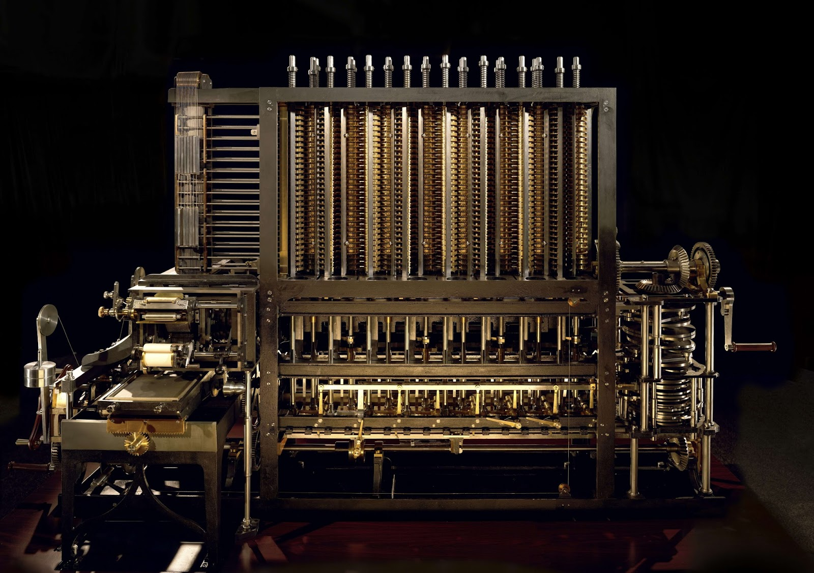 History of Computers and Computing, Babbage, Next ... |The Difference Engine