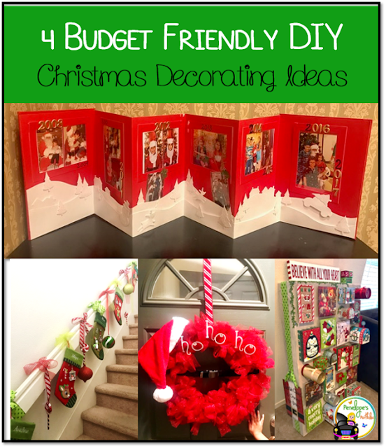 4 Budget Friendly DIY Christmas Decorating Ideas