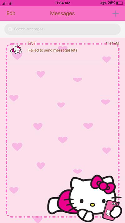 Oppo F3 Theme Pinkish Hellow Kitty Theme