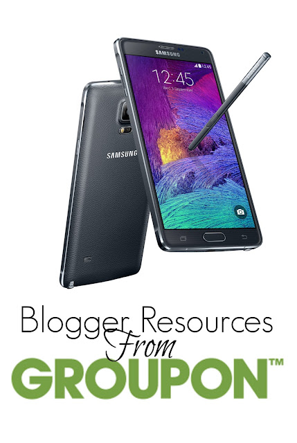 Blogger Resources from Groupon - Samsung Note 4