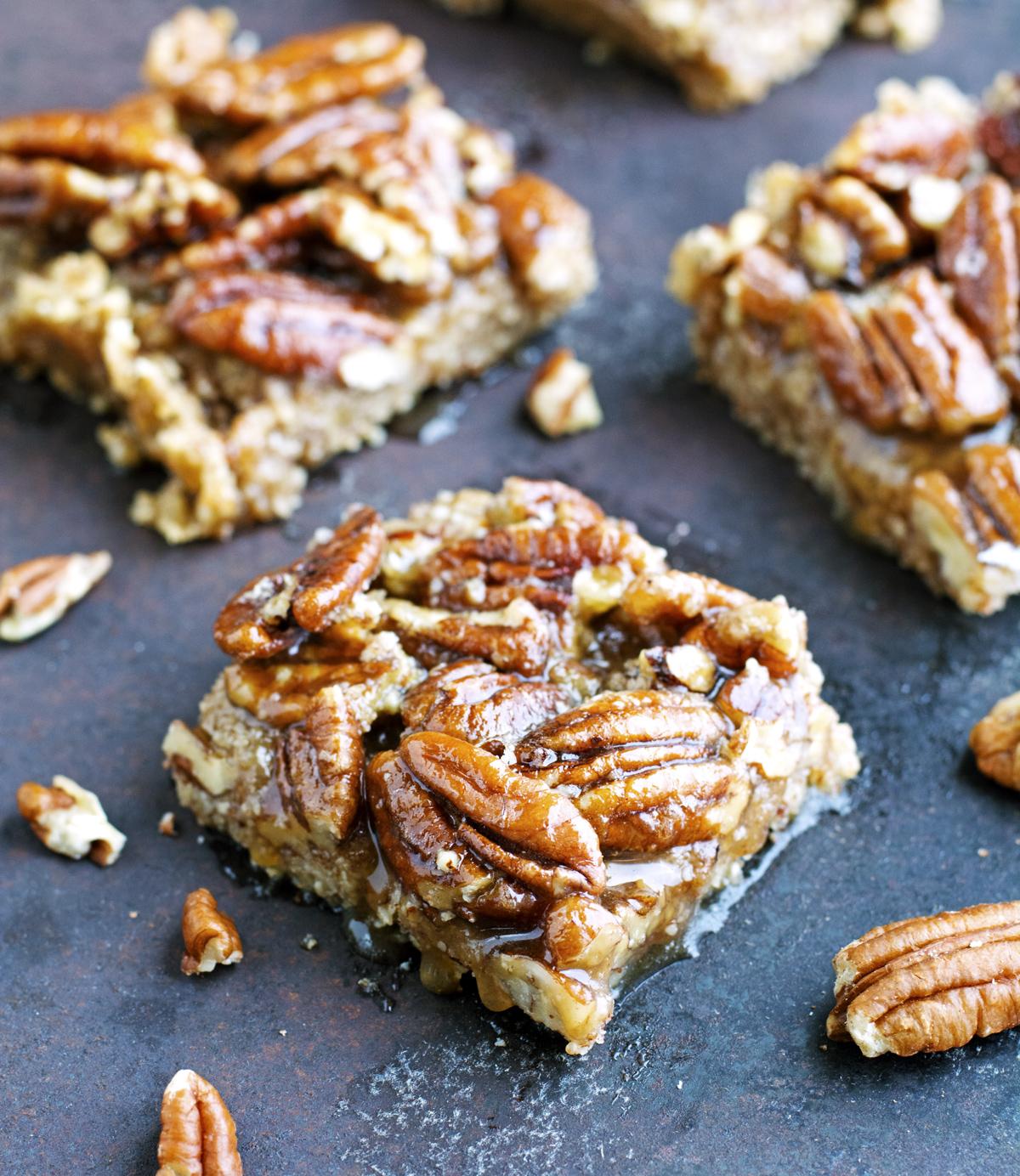 (Gluten-Free) Almond Pecan Bars