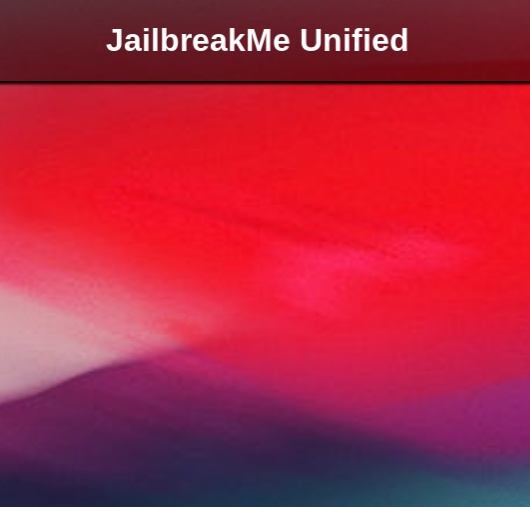 iOS Hacker Soon To Release JailbreakMeUnified Jailbreak Tool For iOS