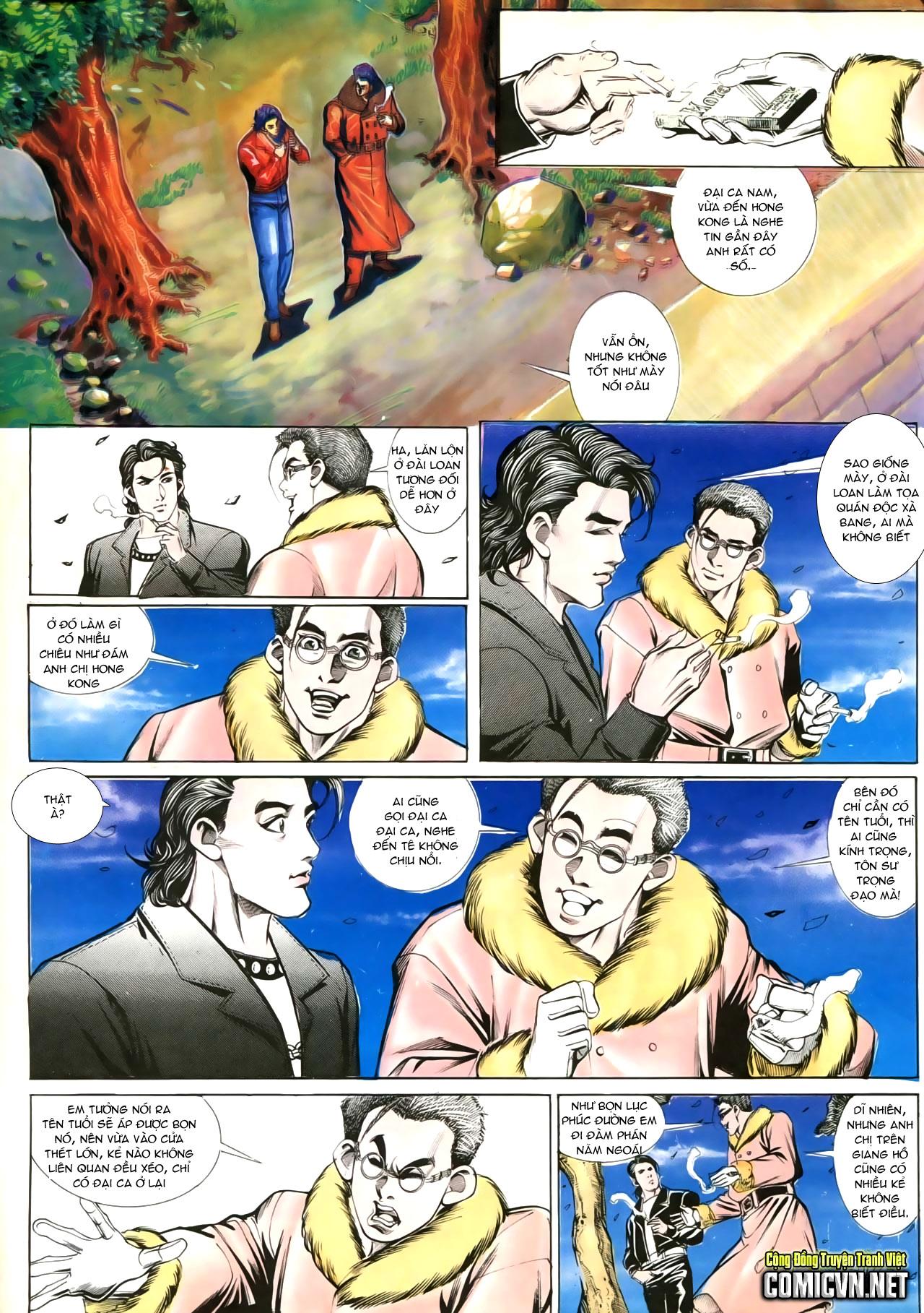 Người Trong Giang Hồ chapter 202: đối đầu trang 18