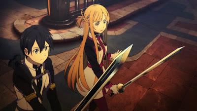 anime Sword Art Online Ordinal Scale