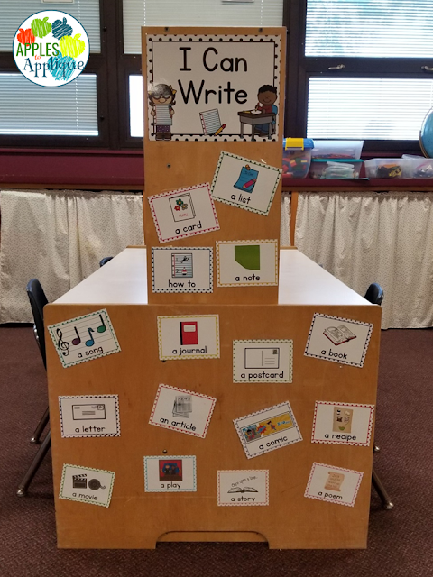 Using a Writing Center to Empower Students | Apples to Applique