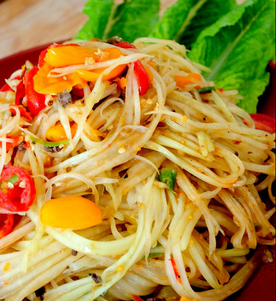Green Papaya Salad – Som Tam