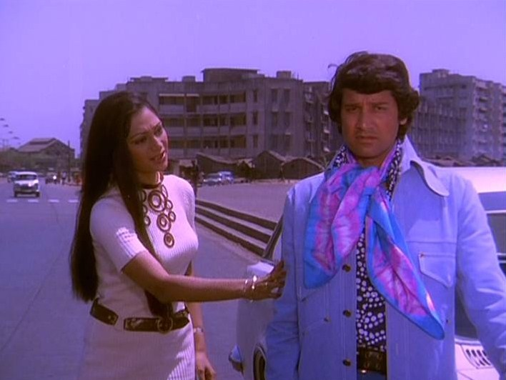 Bollywood Movie Fashion: Vishal Anand in Chalte Chalte (1976)