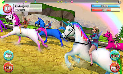 Ultimate unicorn dash 3D android apk games