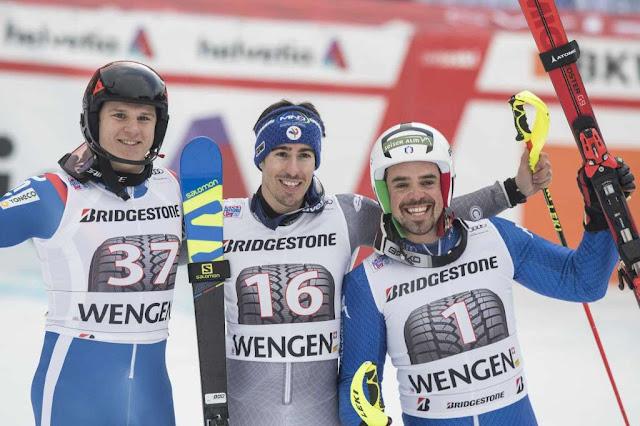 Victor Muffat-Jeandet Wins Alpine Combined in Wengen