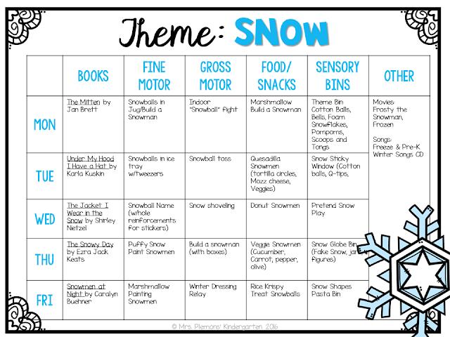 Kindergarten Calendar Math Lesson Plans : Tot school winter mrs plemons kindergarten