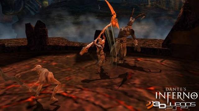 Dantes Inferno PC Full Español Emulado Descargar